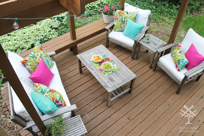 QUICK WAYS TO MAKE YOUR PATIO MORE FUN