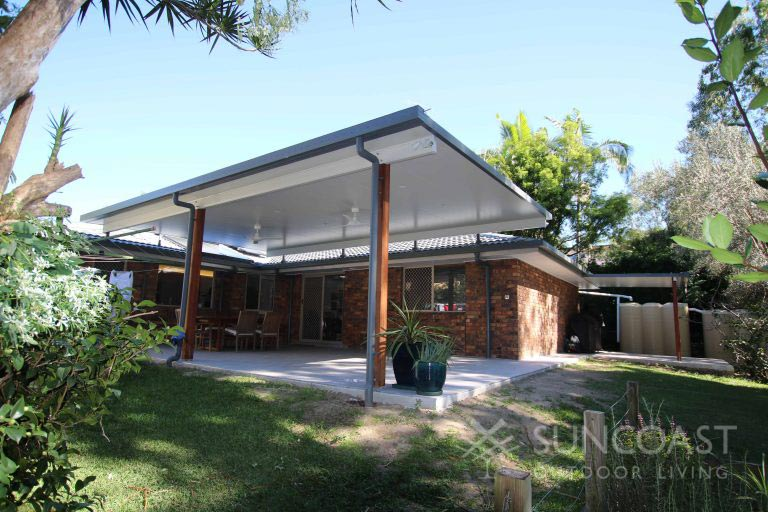 Before - Old Polycarbonate Patio, Tingalpa QLD