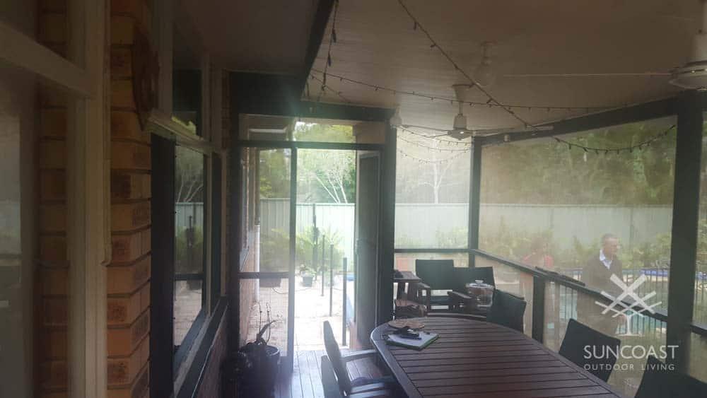 Before - Old Patio Enclosure, Clontarf, QLD