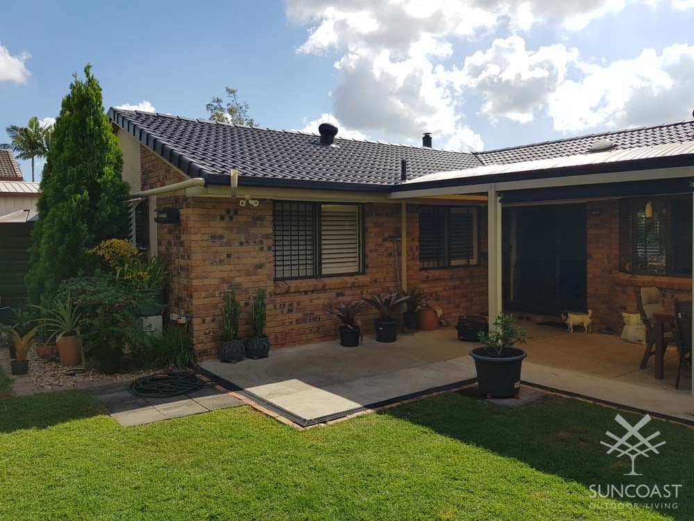 Before - Old Patio Roof, Tingalpa QLD