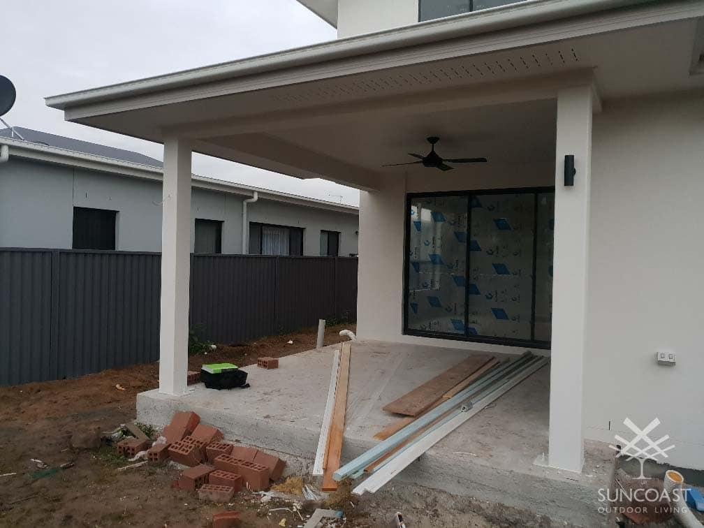 Before - Existing Patio, Wishart QLD