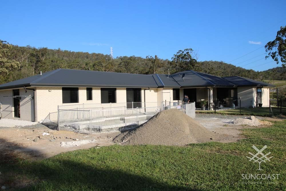 Before Completed Pool and Enclosure, Maudsland QLD