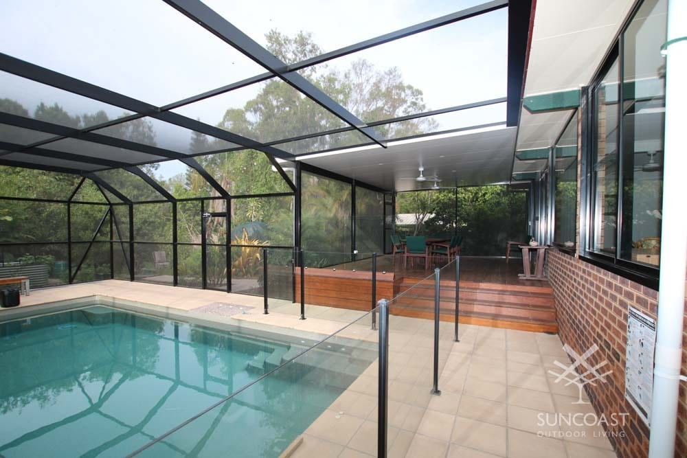 After - Modern Pool and Patio Enclosure, Clontarf, QLD