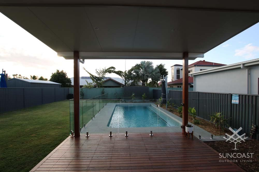 After - Insulated Fly Over Patio Pool View, Wishart QLD