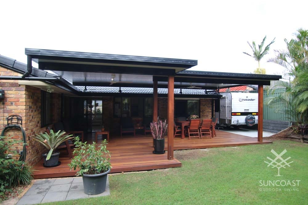 After - Insulated Patio Roof and Deck, Tingalpa QLD
