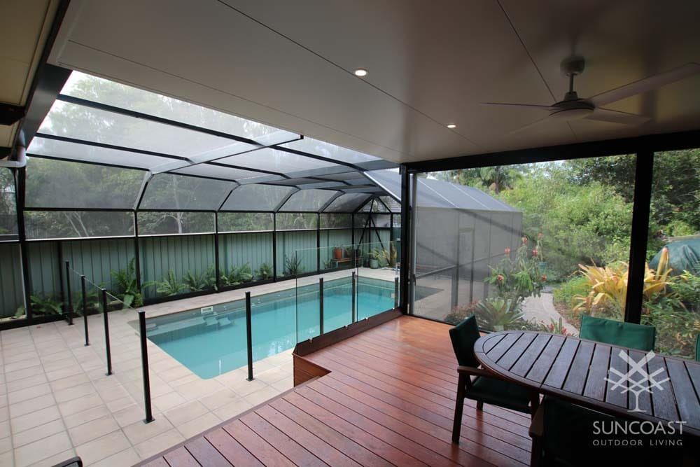 After - Extended Patio Overlooking Enclosed Pool, Clontarf, QLD