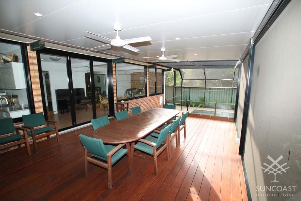 After - Extended Patio Area with Insulated Roof, Clontarf, QLD