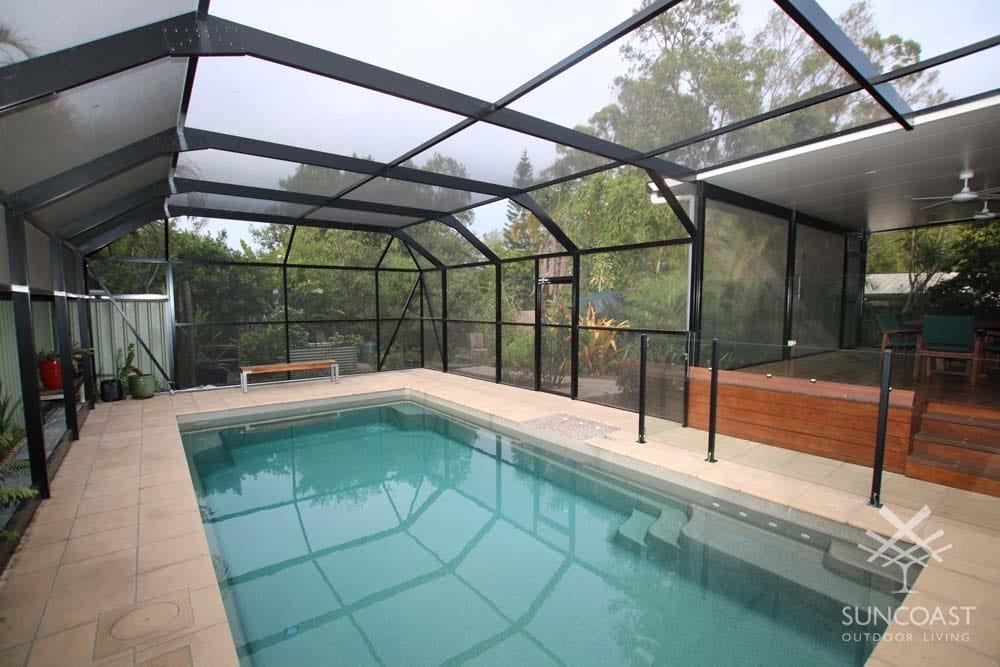 After - Pool Enclosure, Clontarf, QLD