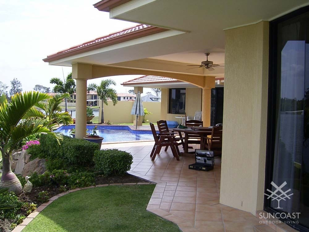 Before - Pool and Deck Area, Helensvale, QLD