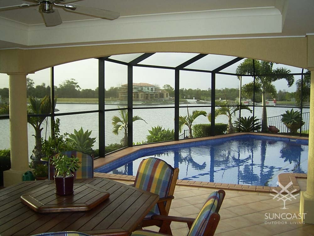 After - Screen Pool Enclosure, Helensvale, QLD