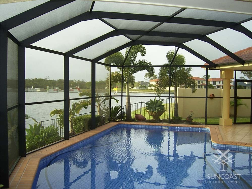 After - Screen Pool Enclosure - Views, Helensvale, QLD