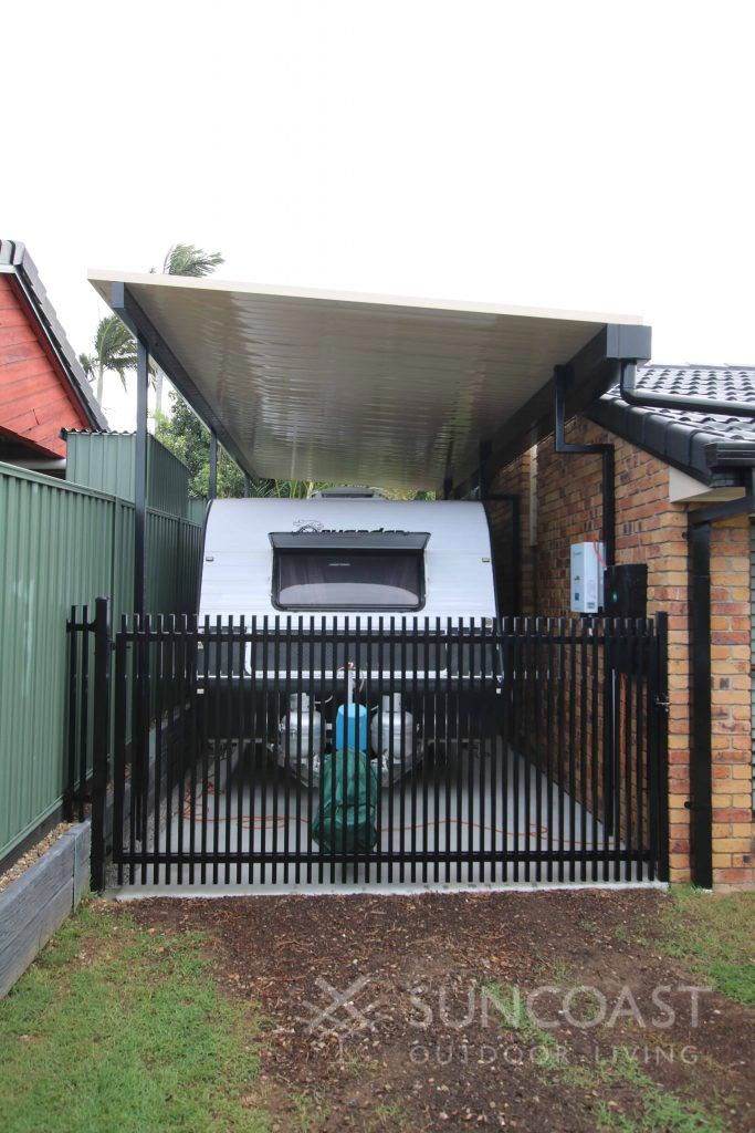 Insulated Fly over roof carport