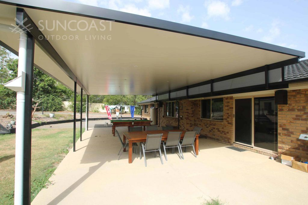 Large Insulated Patio Roof