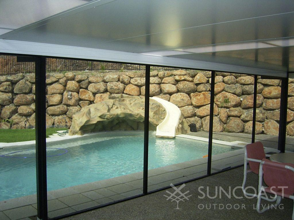pool safe screen and insulated patio