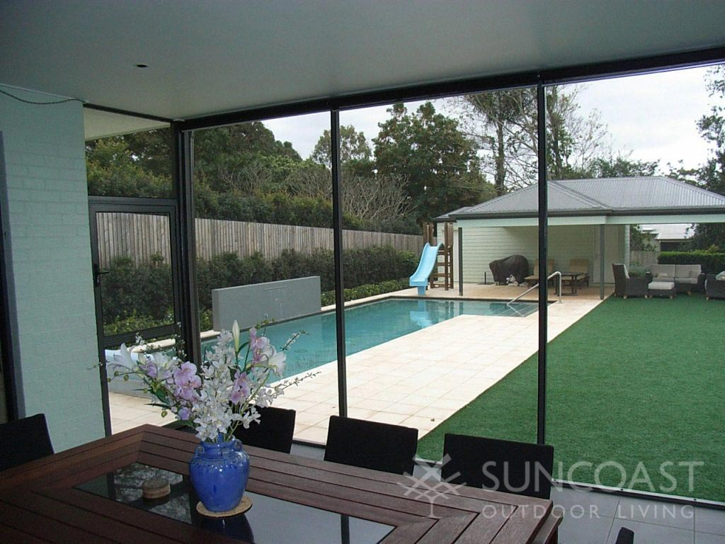 patio enclosure with pool safe screens