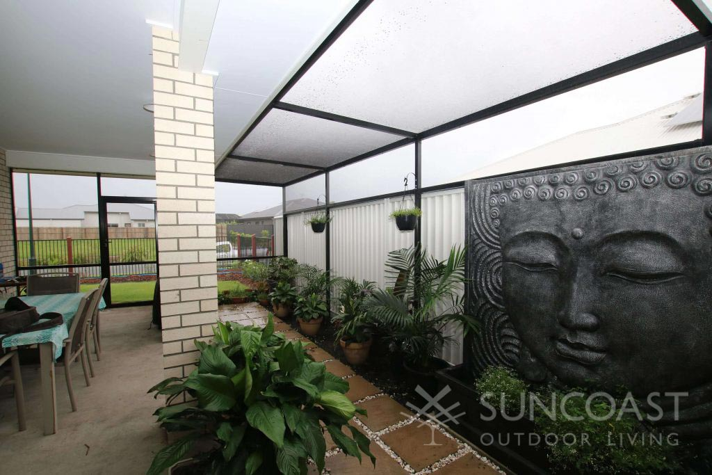 Screened alfresco and garden enclosure