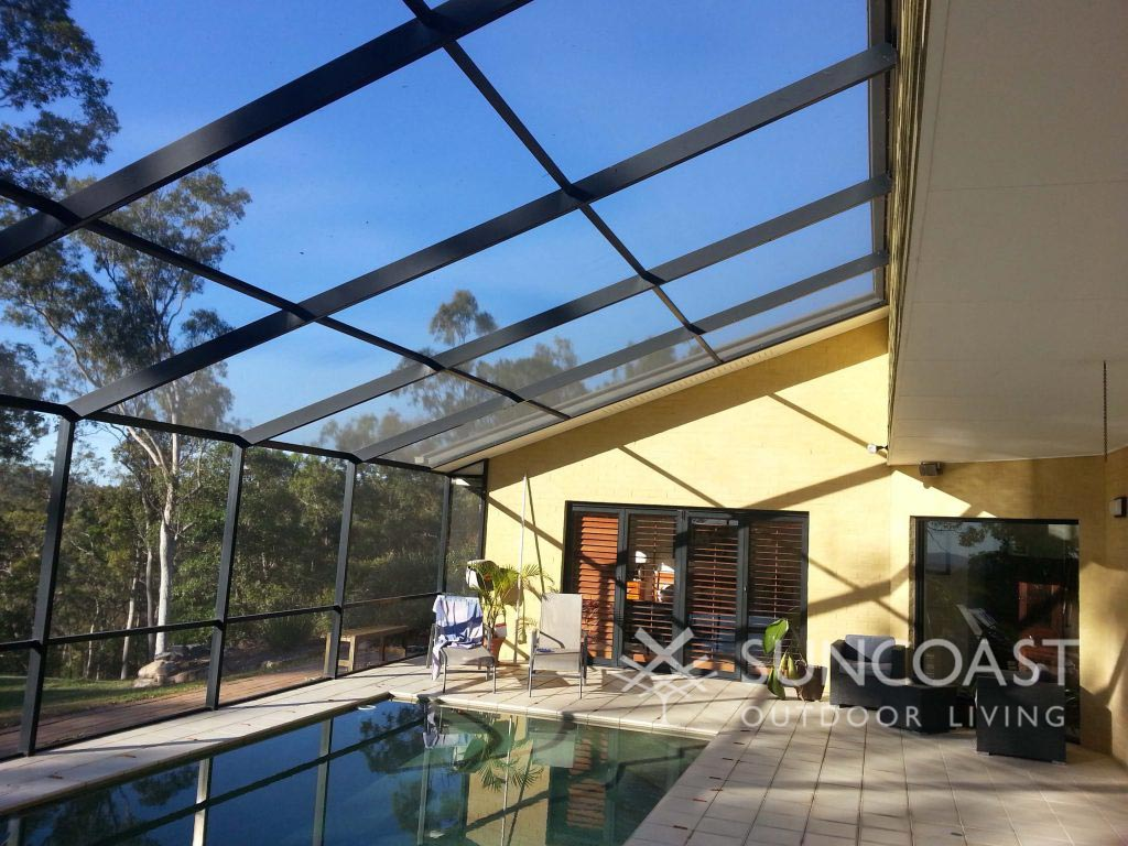 Pool Enclosure PITCHED ROOF